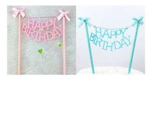 (3 for $9)Happy Birthday Cake Topper series 10