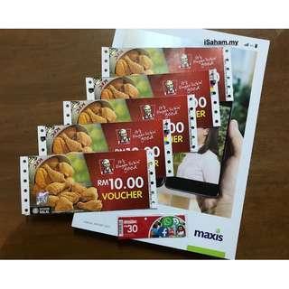 RM89 for RM100 KFC Voucher