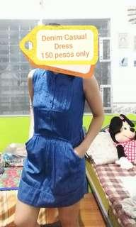 Casual Dress (Soft Denim dress)