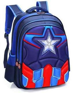 3D CAPTAIN PRIMARY SCHOOL BAG