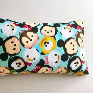 ⭐️Highly Recommended! Bean Sprout Husk Pillow / Beanie Pillow , Imported Fabric ( 100% Handmade 100% Jersey Cotton , Premium Quality!) 15 x 40 cm Tsum Tsum