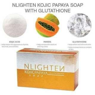 NLIGHTEN Kojic Papaya Glutathione