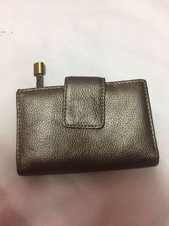 Genuine soft leather wallet