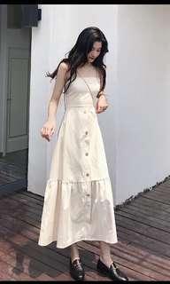 (Pending) Beige maxi dress