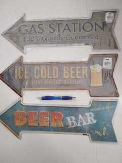Metal Classic Vintage Pub Beer Sign Brand New Sealed
