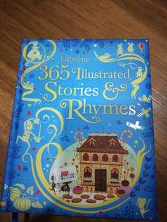 Usborne 365 Ilustrated Stories & Rhymes