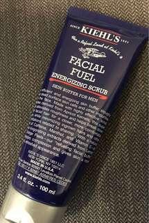 Khiel's Facial Fuel Aenegizing scrub