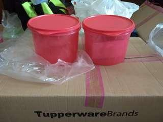 Tupperware Textured Canister 2.4L (2)