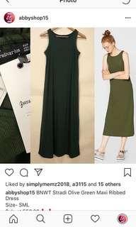 BNWT Stradi Ribbed Dress