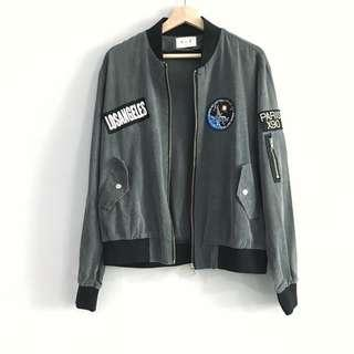 🚚 From Korea - Denim Jacket with Patches