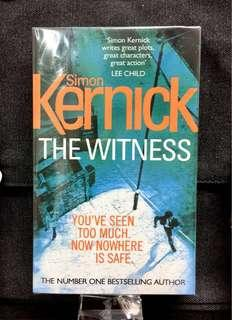 #3×100 Novel《New! + 2015 Edition of Action-Pack Terrorism Thiller Fiction》Simon Kernick - THE WITNESS : You've Seen Too Much. Now Nowhere Is Safe