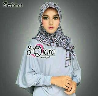 Grey Berliana Hijab Tudung