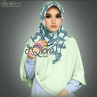 Yellow Berliana Hijab Tudung