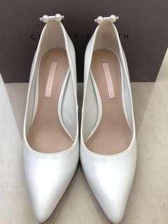 🚚 [正品]小CK珍珠高跟鞋✨折讓價600✨Size36