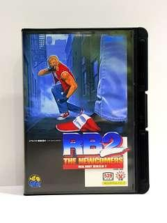 SNK NEO GEO AES  -  RB2  THE NEWCOMERS