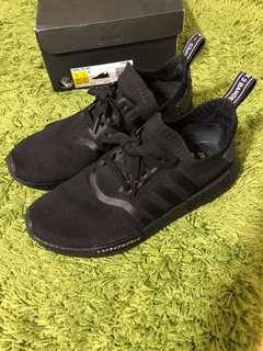 nmd r1 pk japan triple black UK9 US9.5