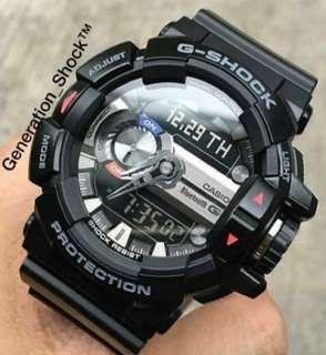 BEST🌟SELLING with 1-YEAR OFFICIAL WARRANTY: 100% ORIGINAL AUTHENTIC G-SHOCK RESISTANT BLUETOOTH WIRELESS SMARTPHONE LINK ANDROID in ABSOLUTELY TOUGHNESS Best Gift For Most Rough Users & Unisex : GBA-400-1ADR / GBA400 / GBA-400-1A / GMIX 🎧 / GSHOCK DIVER