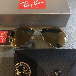 Ray-Ban Authentic Aviator Flash Sunglasses