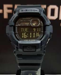 BEST🌟SELLING : 1-YEAR OFFICIAL WARRANTY : 100% ORIGINAL AUTHENTIC G-SHOCK ALARM 🚨 VIBRATIONS / FLASH ALERT in ABSOLUTELY TOUGHNESS In Stealth Resin Band BEST GIFT For Unisex & Most Rough Users : GD-350-1B / GD350 / GX-56BB / GX-56 / GX56 / GX56BB / GSHOCK