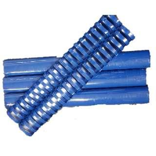 🚚 Plastic Binding Ring 38mm Blue (25pcs)