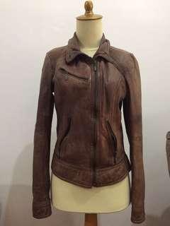 Jaket kulit by bershka