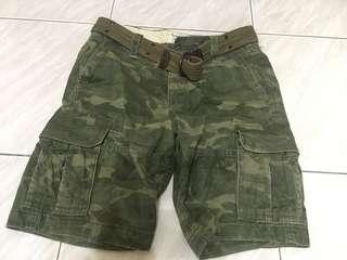 Abercrombie&Fitch經典短褲!!