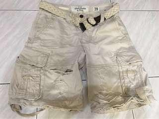 Abercrombie&Fitch經典短褲