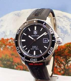 Brand New TAG HEUER Aquaracer Calibre5 Automatic 41mm. Model reference WAK2110. FT6027.