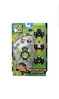 Ben10 Ben 10 Omni Launch Battle Figures, Four Arms, Diamondhead and Wild Vine