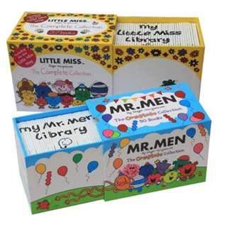 Mr Men 50 Book Sealed and Brand New