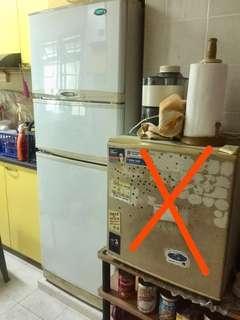 GOLDSTAR 3 Doors Refrigerator FREE Mini Refrigerator