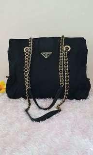 Guaranteed authentic prada shoulder bag