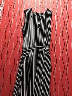 Stripes B&W Dress 2