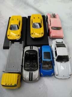 🚚 風火輪,TOMICA,其他二手玩具車一共7台