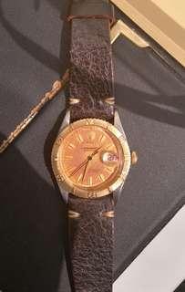 Rolex Rare Vintage 6609 金鋼 tropical 面