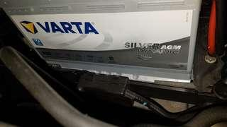 Varta Silver AGM 70MAH battery