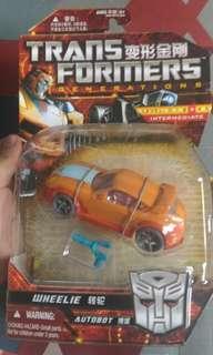 Transformers wheelie and rat trap