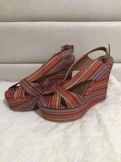Authentic Jeffrey Campbell Mariel Wedge Sandals