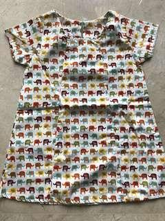 Dress Gajah made in Thailand