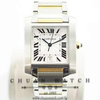 Pre-Owned Cartier Tank Francaise Automatic Two-Tone 2302 - Discontinued