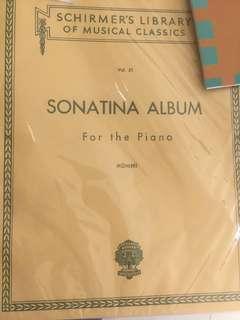 Buku klasik sonatina album dan czerny