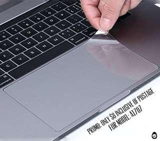 """🚚 15"""" MacBook Pro with touchbar A1707 Transparent trackpad protector"""