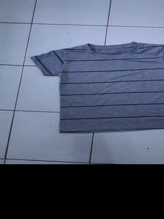 T Shirt abu abu free ongkir