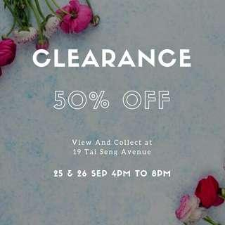 CLEARANCE SALE SOY CANDLES & SCENTED MELTS