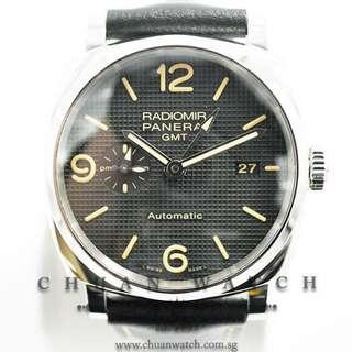 Pre-Owned Panerai Radiomir 1940 3-Days GMT 45mm Pam 627 S