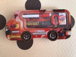 蜘蛛俠筆盒 spider man pencil case