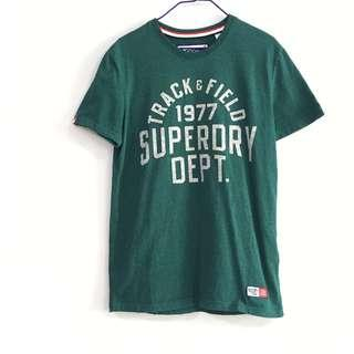 🚚 BN Superdry Track & Field Tee in Green