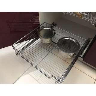 SPECIAL OFFER!! 800mm pull-out baskets for kitchen