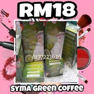 Syma green coffee