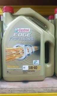 6 in 1 Castrol Edge Professional 5w40